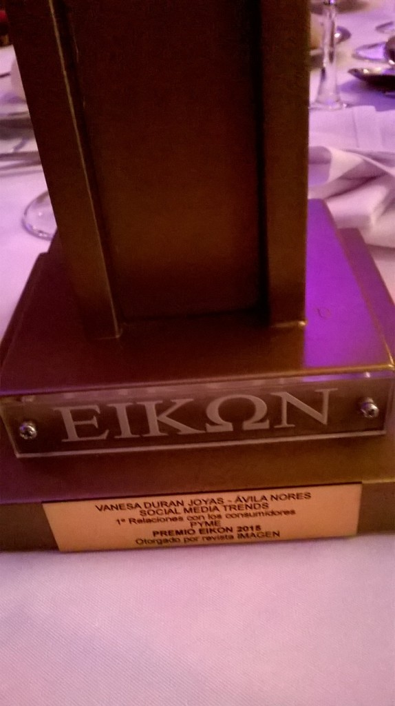 Premio Eikon Social Media Trends